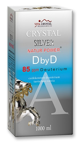 Crystal Silver Natur Power DbyD 85ppm 1000ml